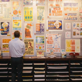 How a Small Nashville Print Shop Forever Changed the Look of Advertising