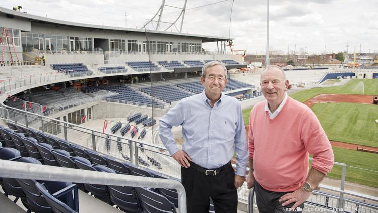 Meet the duo who really, really wants the Nashville Sounds' new stadium to be successful